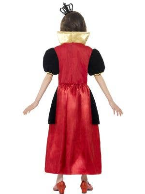 Miss Heart Girls Red Queen Costume