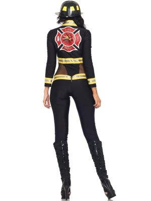 Red Blaze Firefighter Sexy Women's Costume