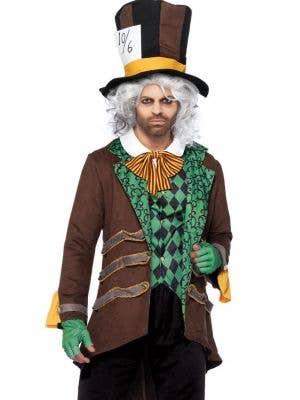Classic Mad Hatter Deluxe Men's Halloween Costume