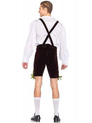 German Lederhosen Deluxe Men's Oktoberfest Costume