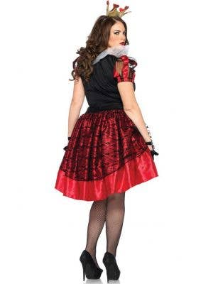 Royal Queen of Hearts Women's Costume - Plus Size