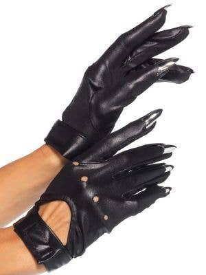 Cat Claw Women's Black Gloves