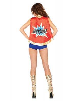 Comic Book Girl Sexy Women's Superhero Costume