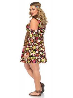 Starflower Hippie Women's 1960's Plus Size Costume