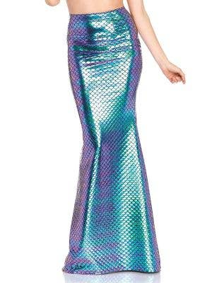 Iridescent Mermaid Scale Costume Skirt