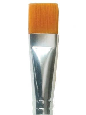 """Mehron 3/4"""" Flat Makeup Brush Applicator"""