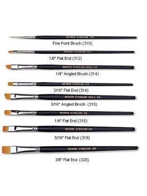 Make-Up Brush - Stageline Fine Point