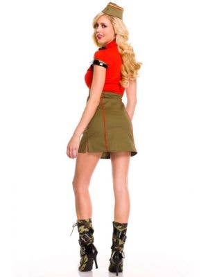 Snappy Lady Sexy Women's Army Costume