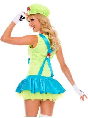 Playful Plumber Women's Miss Luigi Costume