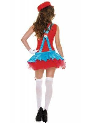 Playful Plumber Women's Miss Mario Costume
