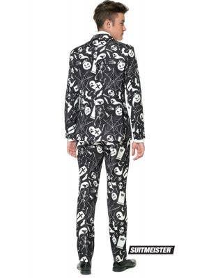 Suitmeister Spooky Black Halloween Print Men's Novelty Suit