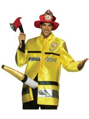 Fire Extinguisher Men's Fancy Dress Costume