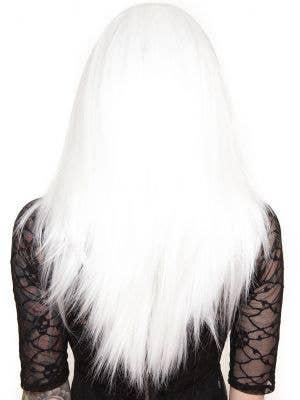 "Lace Front 24"" Long White Women's Fashion Wig"