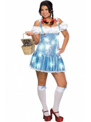 Wizard Of Oz Women's Plus Size Dorothy Costume