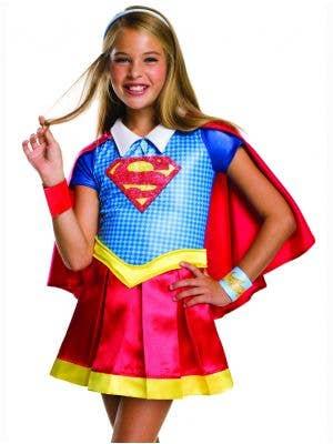 Super Girl DC Superhero Kids Costume
