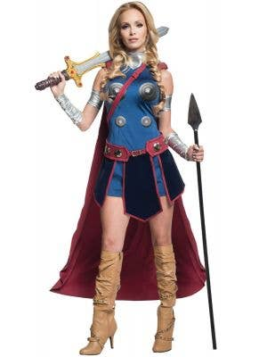 Marvel Comics Valkyrie Women's Fancy Dress Costume