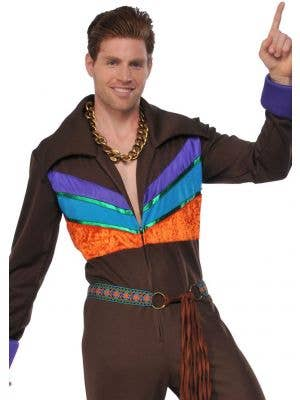70's Hippie Guy Men's Fancy Dress Costume