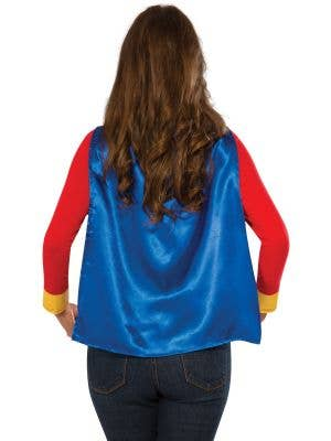Wonder Woman Women's Costume T-Shirt with Cape