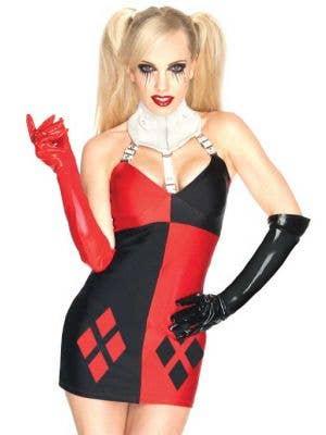 Harley Quinn Sexy Women's Villian Costume