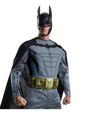 Arkham Men's Muscle Chest Batman Costume
