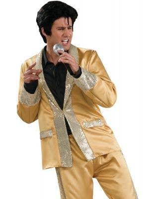 Golden Men's Elvis Presley Costume