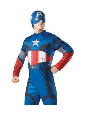 Avengers - Muscle Chest Captain America Costume