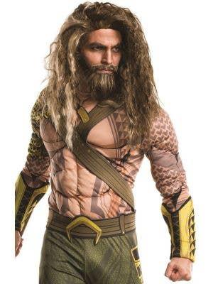 Aquaman Deluxe Men's Fancy Dress Costume