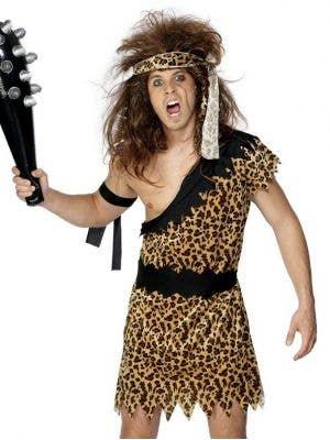Caveman Men's Budget Fancy Dress Costume