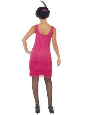 Fun Time Flapper Pink Women's 1920's Costume