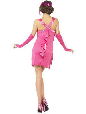 Flapper Hotty Women's Pink 1920's Costume