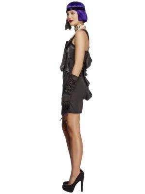 Foxy Flapper Women's Black 1920's Costume