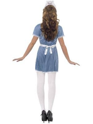Naughty Nurse Sexy Women's Fancy Dress Costume