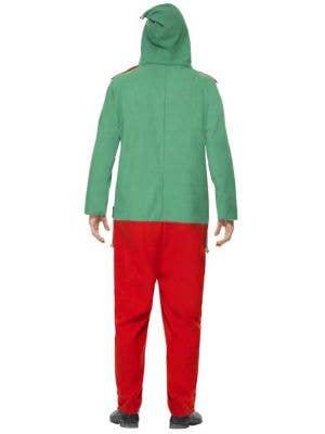 Elf Adult's Christmas Onesie Costume