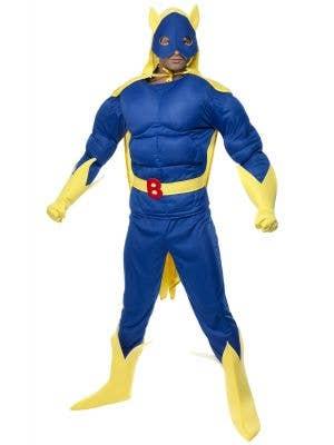 Bananaman Muscle Chest Men's Superhero Costume
