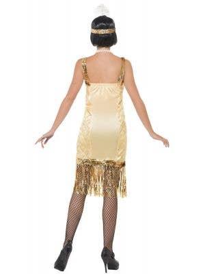 5fcdfcd2ef Charleston Women s 1920 s Gold Flapper Costume Charleston Women s 1920 s  Gold Flapper Costume