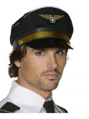 Airplane Captain Pilots Hat