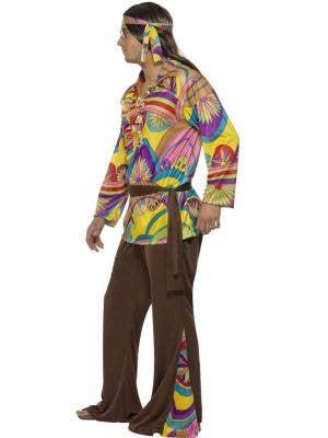 Psychedelic Hippie Man 70's Costume