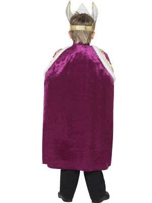 Royal King Boys Dress Up Cape Costume