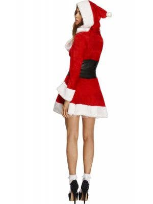 Hooded Miss Santa Sexy Women's Christmas Costume