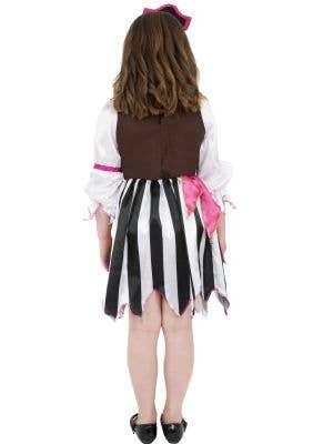 Pretty Pink Pirate Girls Costume