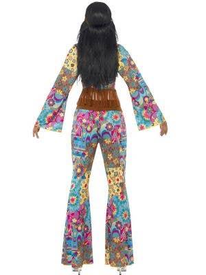 Flower Power Hippie Women's 70's Costume