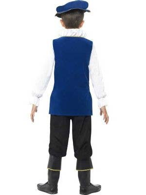 Tudor Boy Blue Renaissance Boys Costume