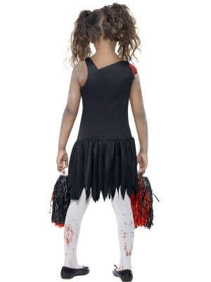 High School Zombie Cheerleader Girl's Costume