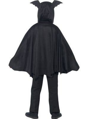 Vampire Bat Kids Hooded Halloween Costume Cape
