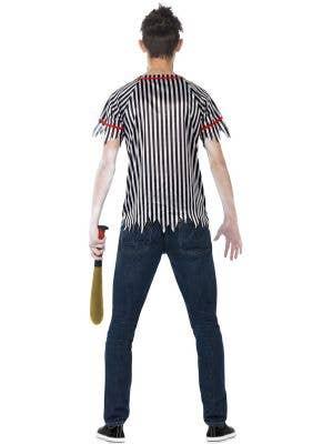 Undead Baseball Player Teen Boys Zombie Costume