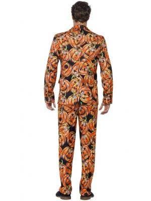 Halloween Pumpkin Men's Stand Out Suit