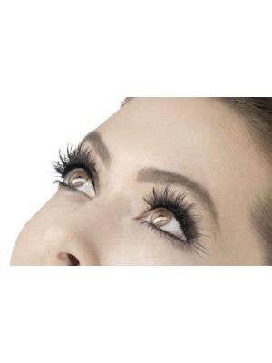 Flutter Women's Long Black Costume Eyelashes