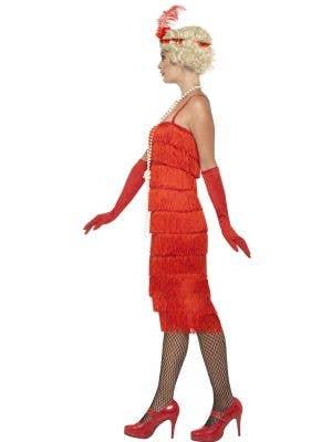 Razzle Dazzle Women's 1920's Long Red Flapper Costume