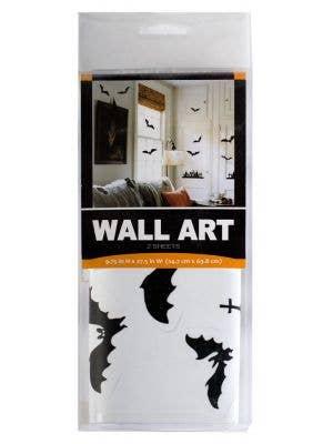 Bats and Tombstones Wall Art Halloween Decoration