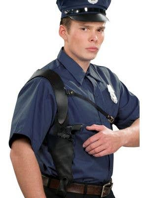 Gangster Shoulder Holster with Gun